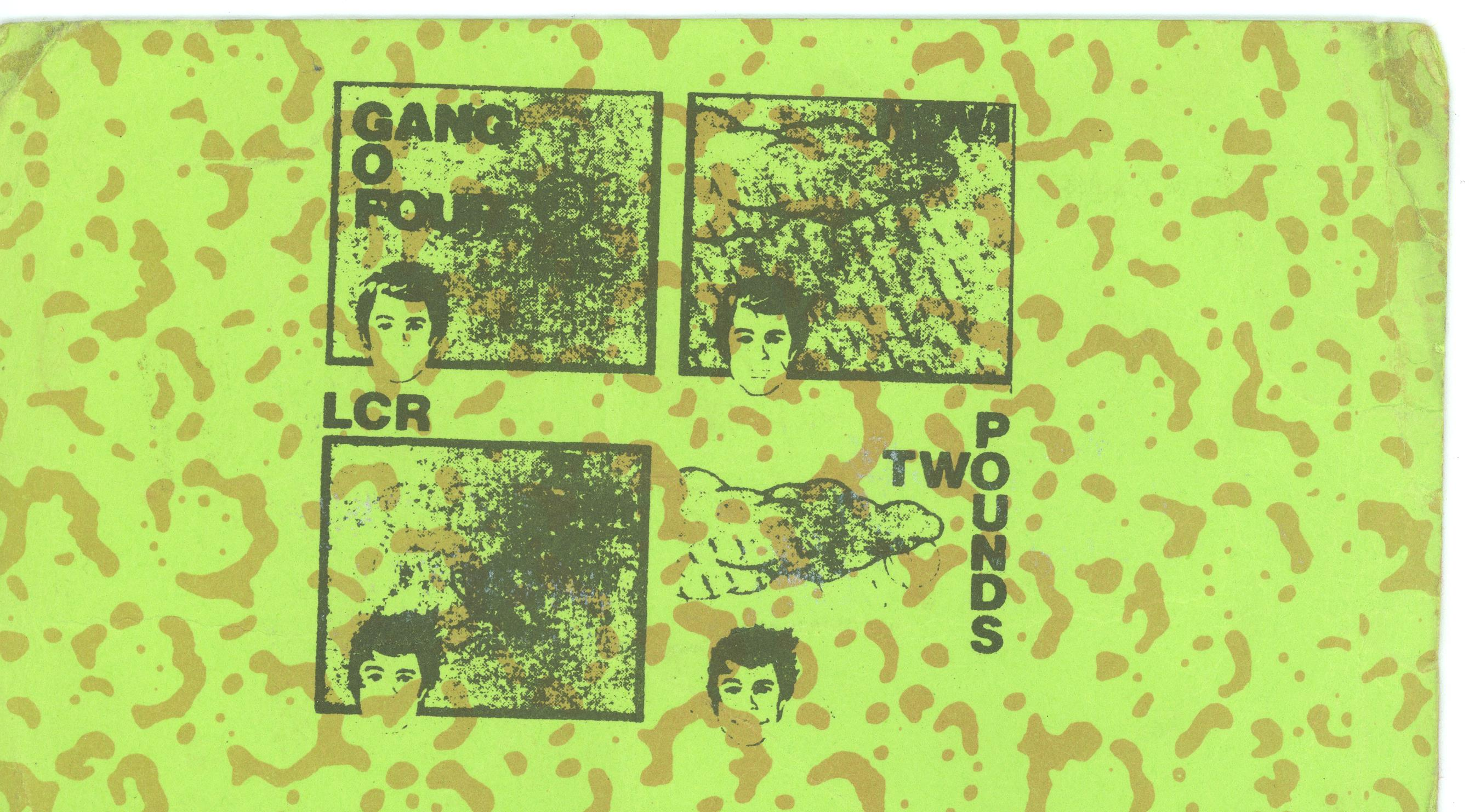 Gang of Four ticket