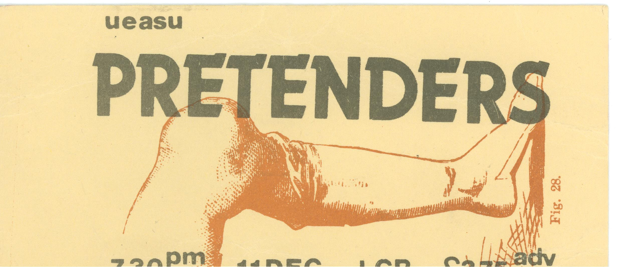 The pretenders ticket