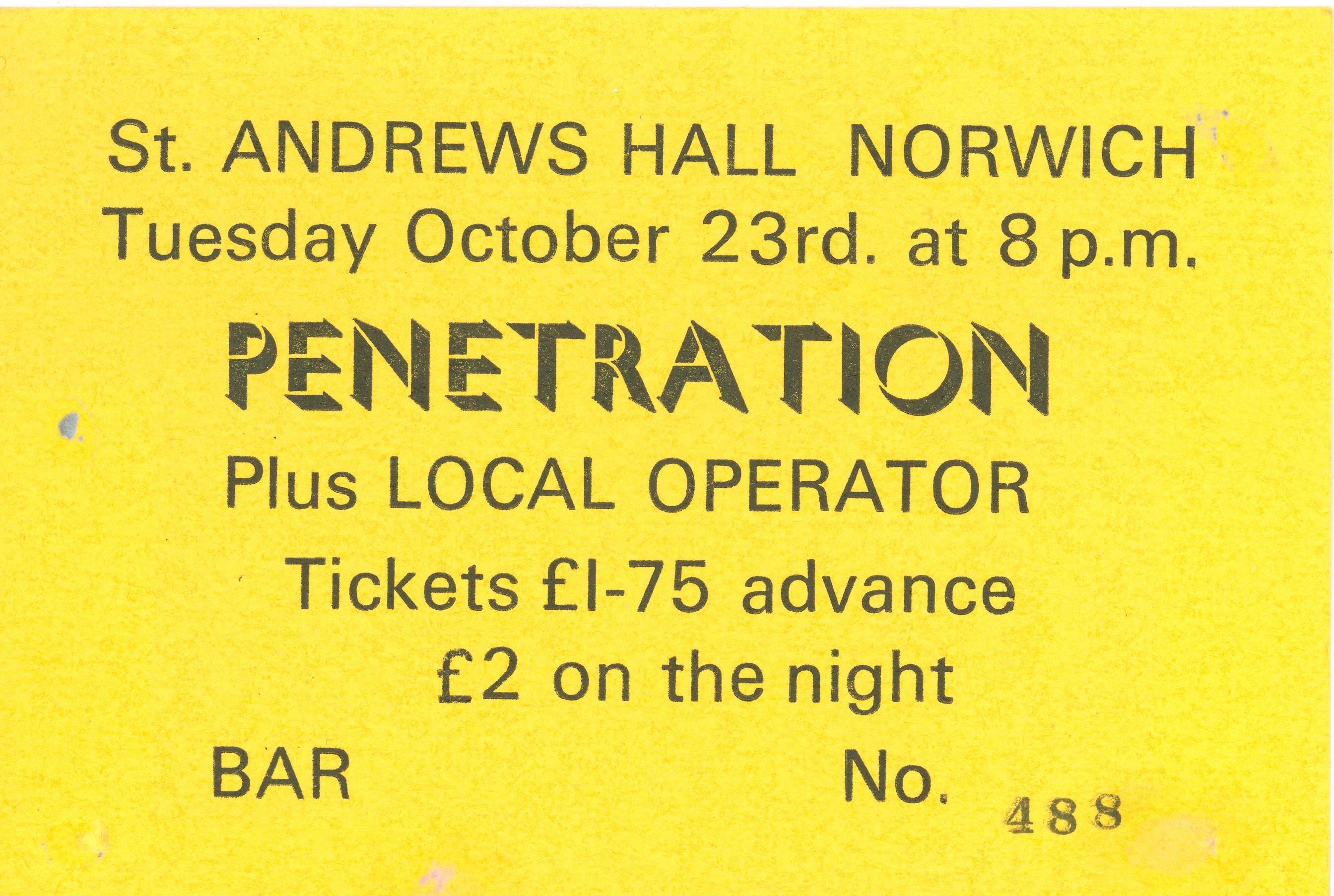 Penetration 1979