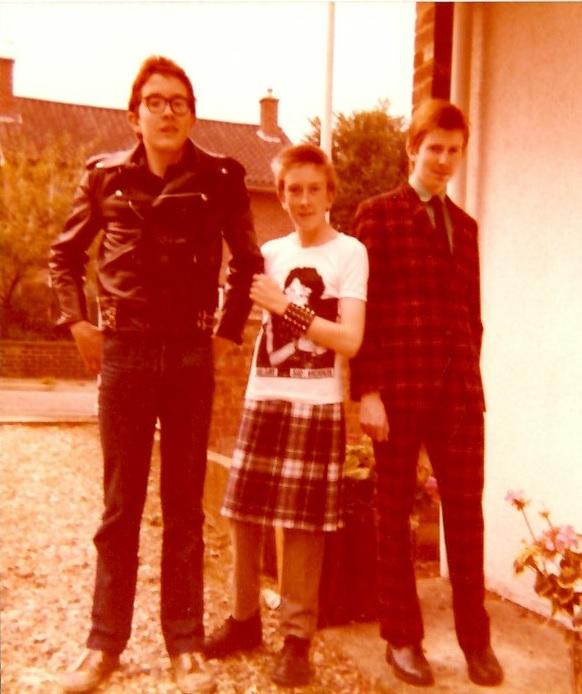 Andy, Ian, Ali, Summer 79