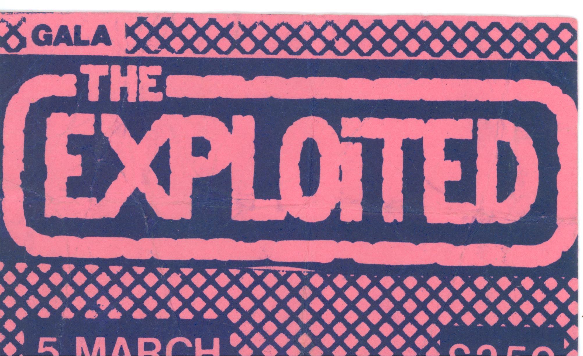 The Exploited, Gala Ballroom
