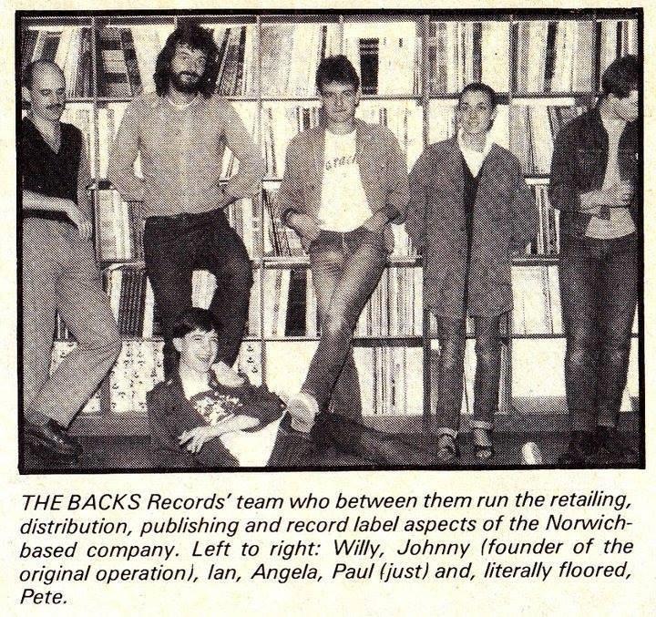 Backs records, Norwich