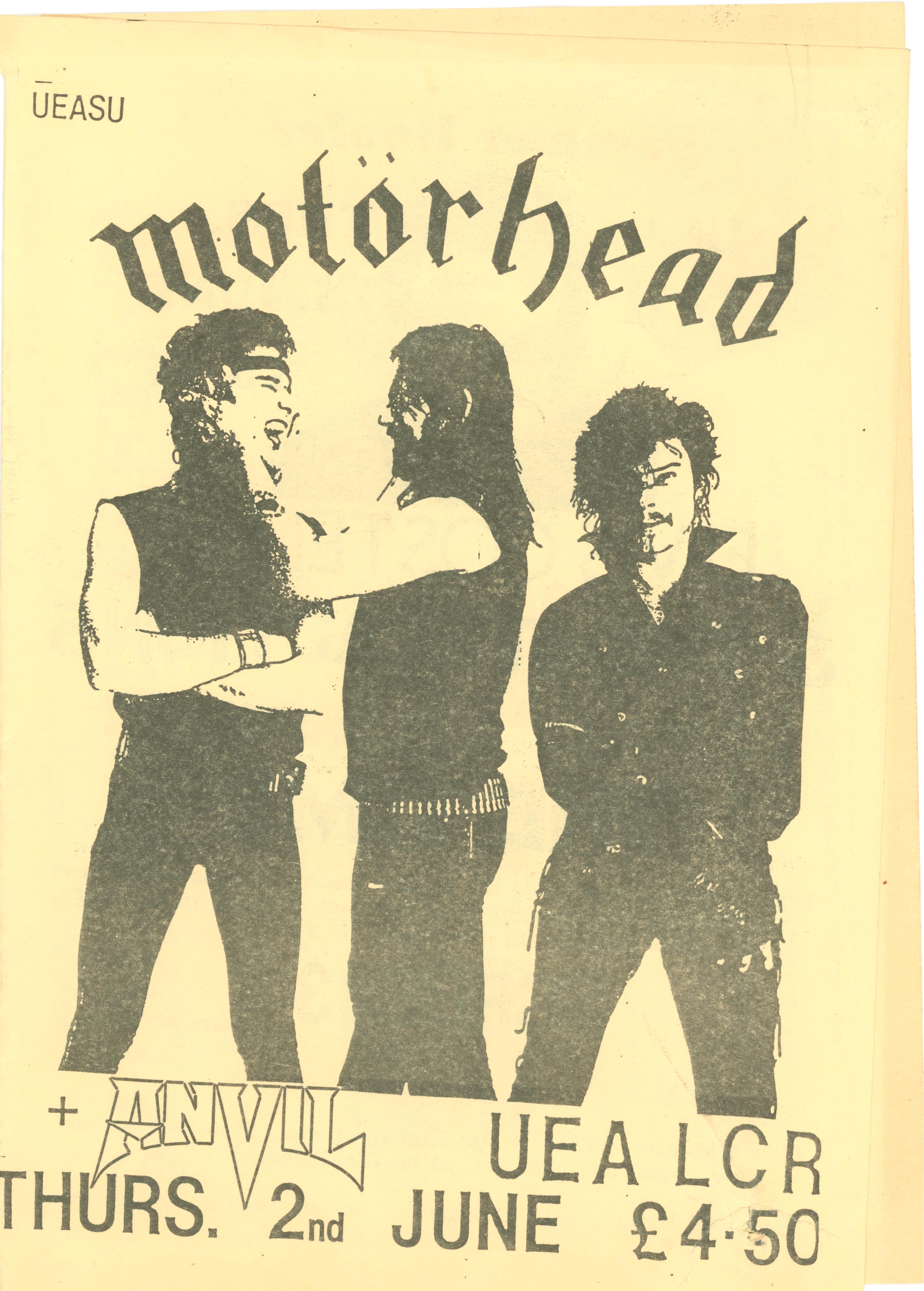 Motorhead, Norwich 1983