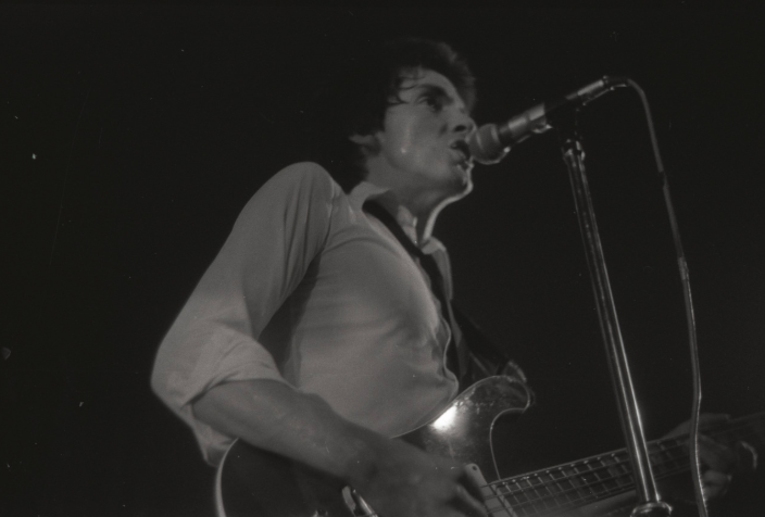 Bruce Foxton, The Jam, West Runton, July 1977