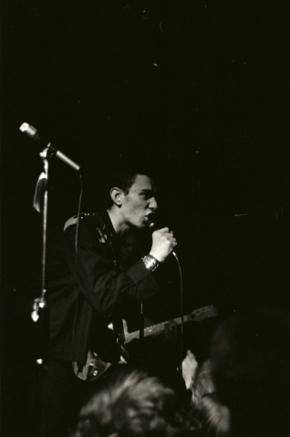 Ollie Wisdom, The Unwanted, Stuarts Hall (now Cinema City), 26th August 1977