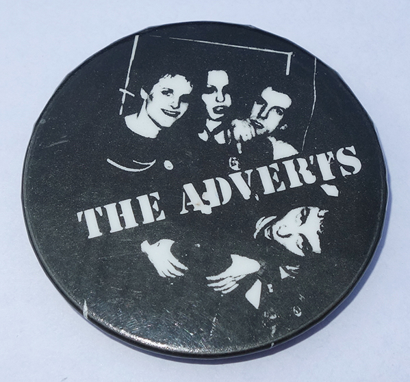 The Adverts Pin Badge