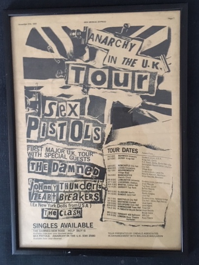 Sex Pistols Advert from NME 1976