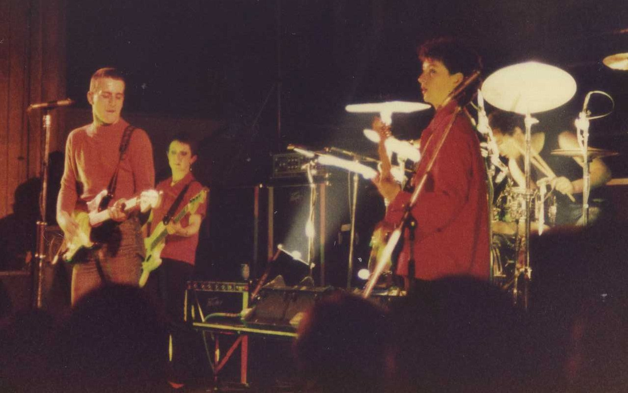 The Au Pairs, St Andrew's Hall, Norwich, 1981